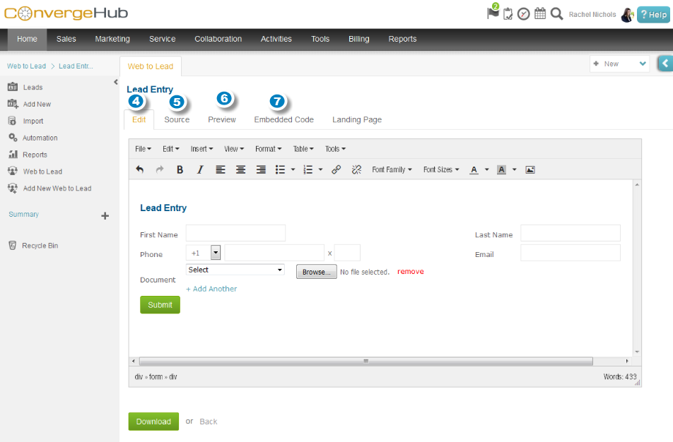 Web to Lead multiple document upload2